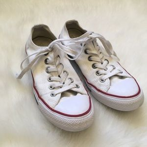 White All Star Converse Sneakers